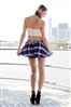 Shop Fashion Avenue - Tartan Flare Shorts