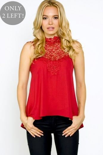 Sophie Crochet Top- $48