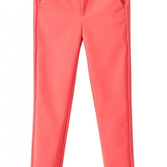 pants classic middle-waist skinny pants candy colors the middle