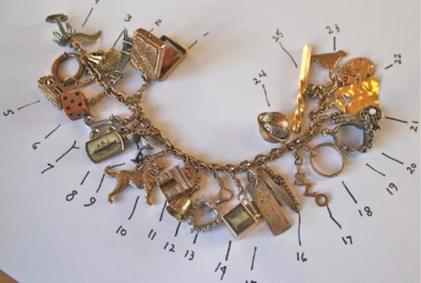 jewels charm bracelet peri.marie