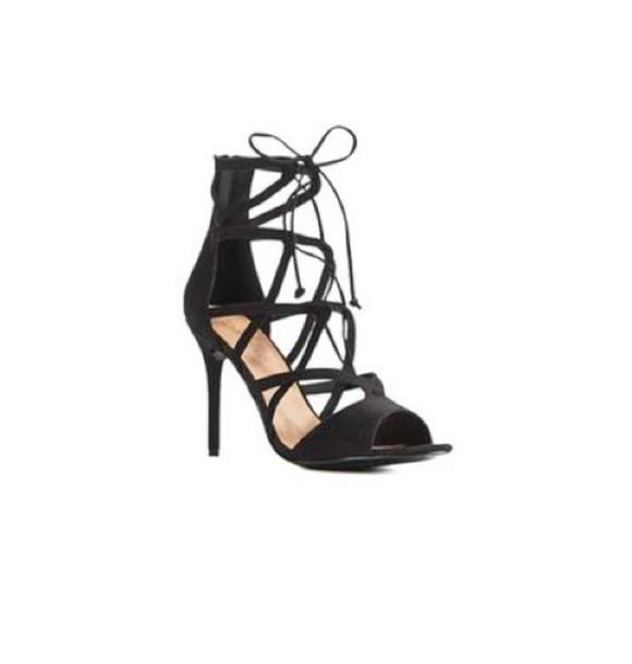 shoes strappy heels black heels criss cross sandal heels sexy clubwear black hot gorgeous bow mid heel cute lace up heels stilletoes