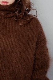 sweater,knit,knit style,knit fashion,angora,angora knit,fall outfits,winter outfits,winter knit,street,streetstyle,modern,modern vintage,basic,basic style,basic fashion,sthsweet,chuu