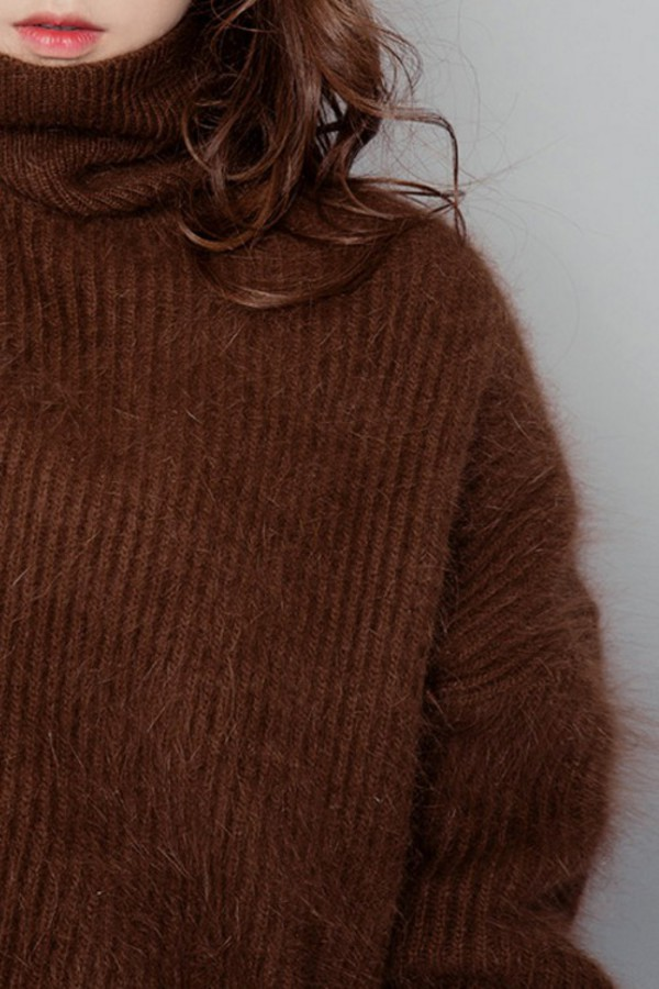 Olivia Chunky Knit Sweater – Outfit Made