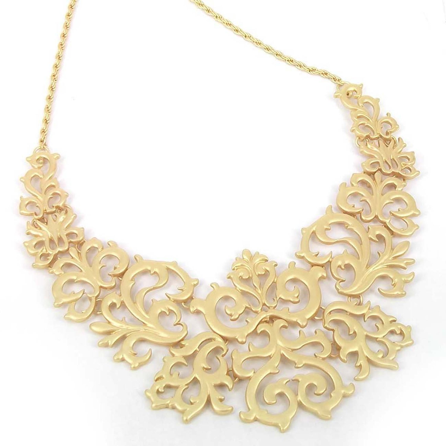 products stylish l necklace golden set loops