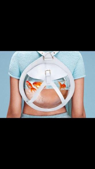 bag fish bowl backpack