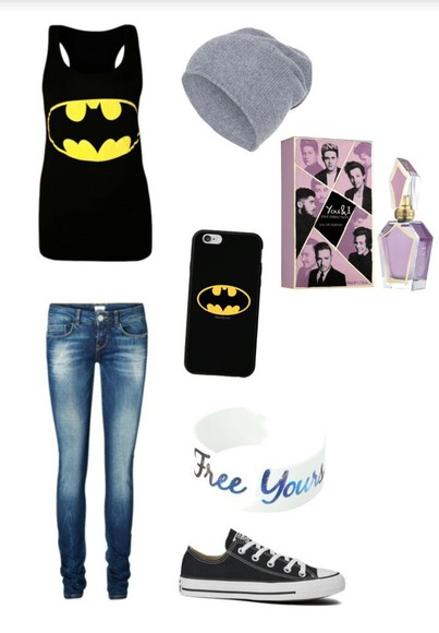 jewels jeans batman