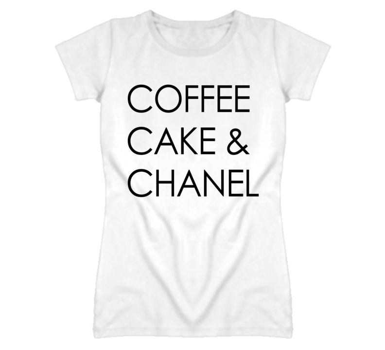 Coffee Cake And Chanel Popular Graphic T Shirt