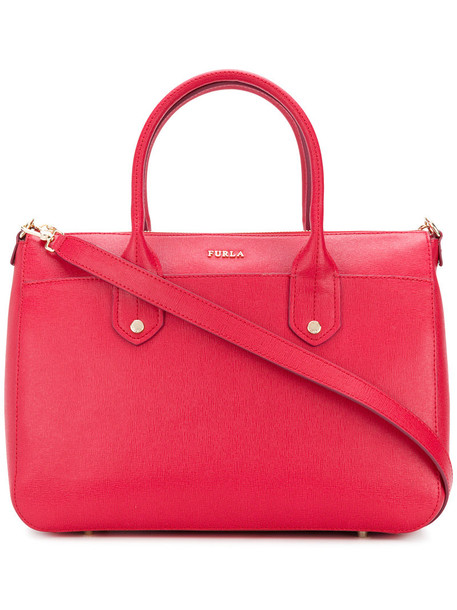 Furla women leather red bag