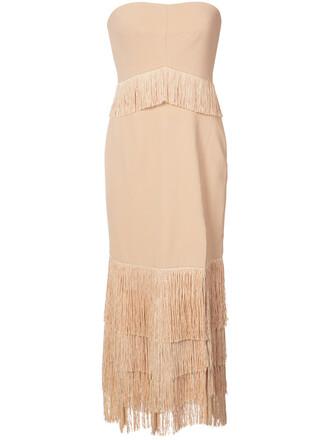 dress strapless dress strapless women spandex lace nude silk
