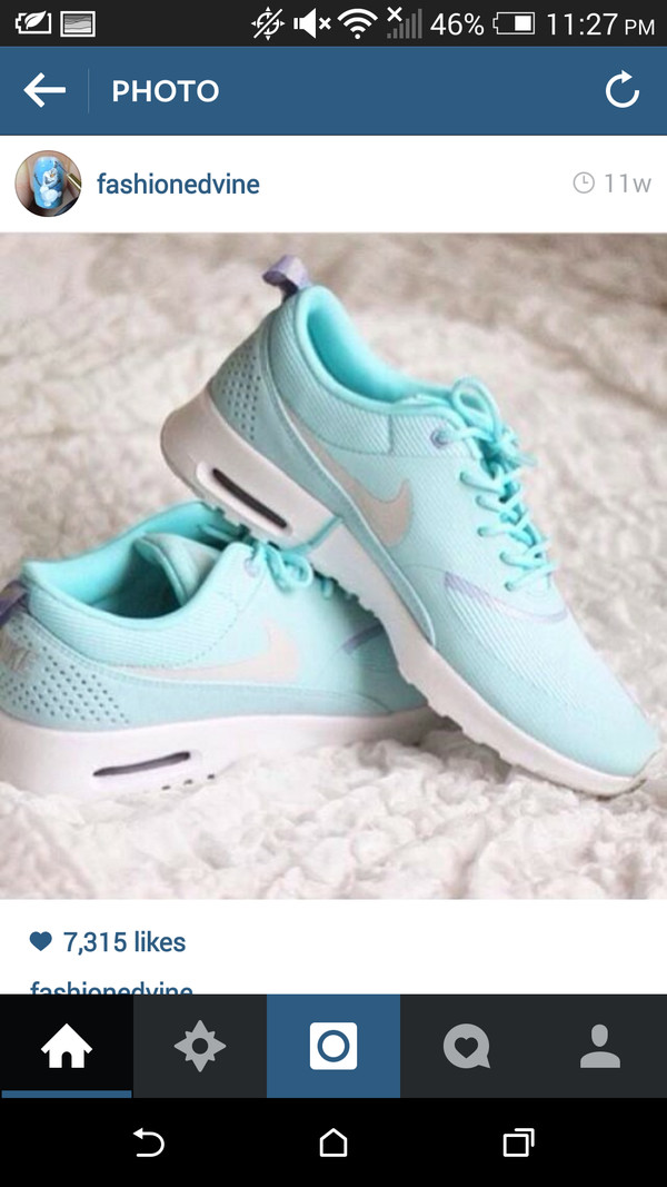 shoes nike light blue
