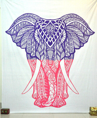 home accessory cotton bedding blanket beach throw hippie tapestries elephant wall hanging living room decor home decorw wall decor college tapestries dorm decor wall art tapestry bohemain wall hanging yoga mat meditation mat psychedelic tapestries
