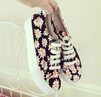shoes daisies trainers