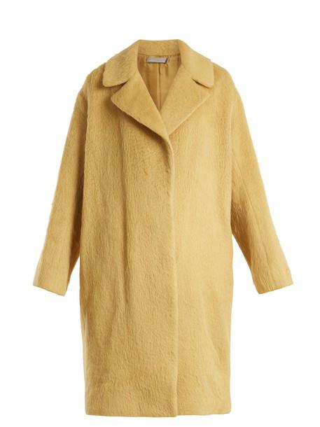 Vince coat wool yellow