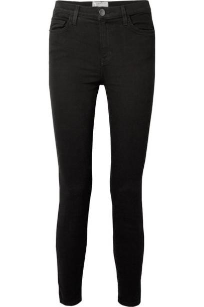 Current/Elliott jeans skinny jeans high black