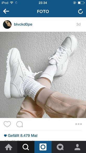 shoes all white pack reebok