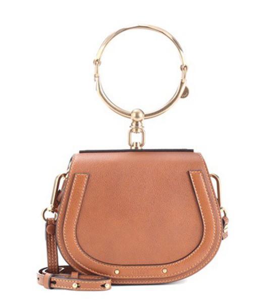Chloe bag crossbody bag leather brown