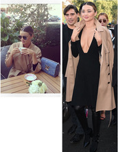 trendy,style,model,trench coat,fall outfits,flawless,stylish,hot,fashion inspo,inspiration,clothes,celeb,blogger,streetstyle,vs,girl,boots,designer,camel coat,camel,miranda kerr,paris,black,louis vuitton,autumn/winter,aviator sunglasses,celebrity style,victoria's secret,vs angel,victoria's secret model,australia