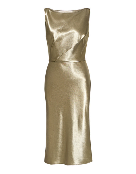 dress metallic dress metallic gold