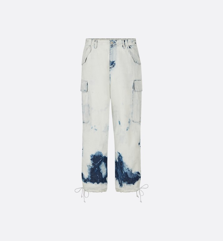 Tie-dye Cargo Jeans - Ready-to-wear - Women's Fashion | DIOR
