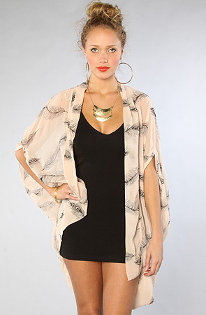 Reverse The Feather Cardigan -  Karmaloop.com