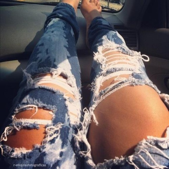 jeans distressed jeans ripped jeans
