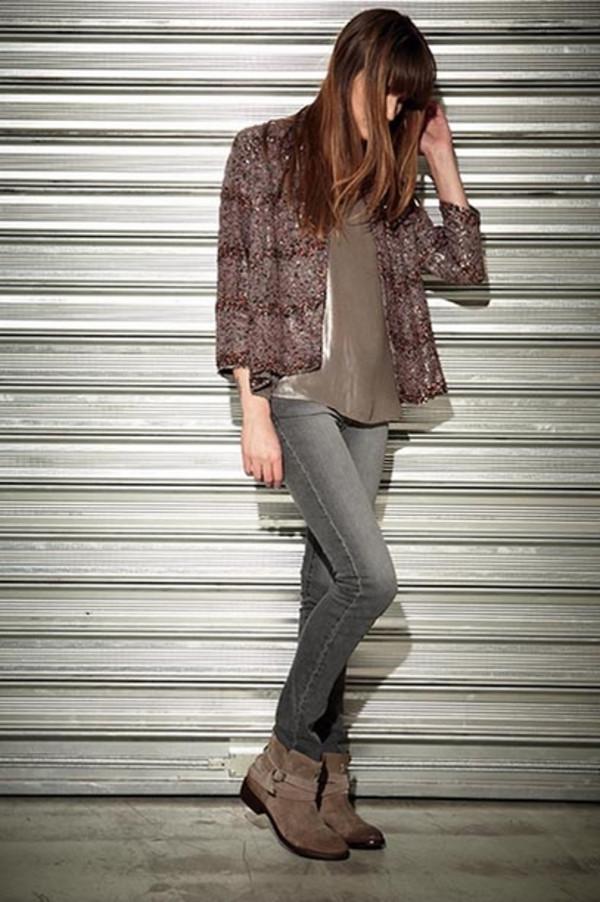 jacket lookbook fashion berenice jeans shoes