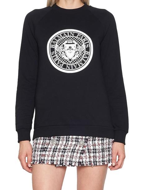 Balmain sweatshirt black sweater