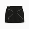 Alexander wang zipped mini skirt