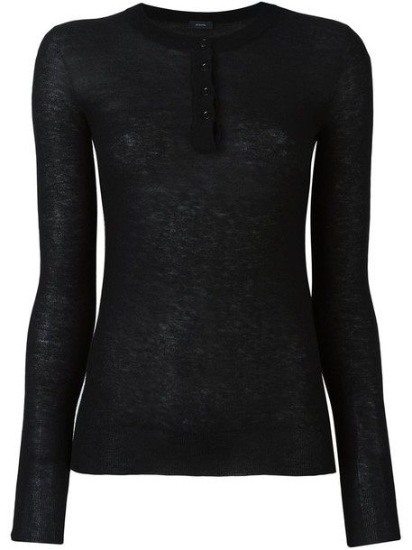 Joseph jumper women black sweater