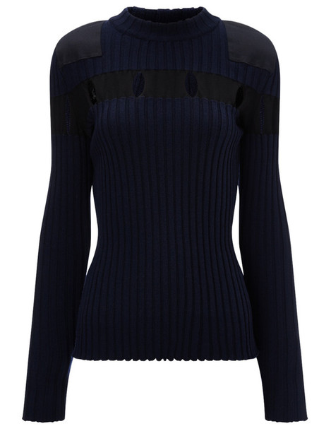 Alexander Wang jumper wool green