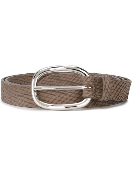 Orciani belt grey