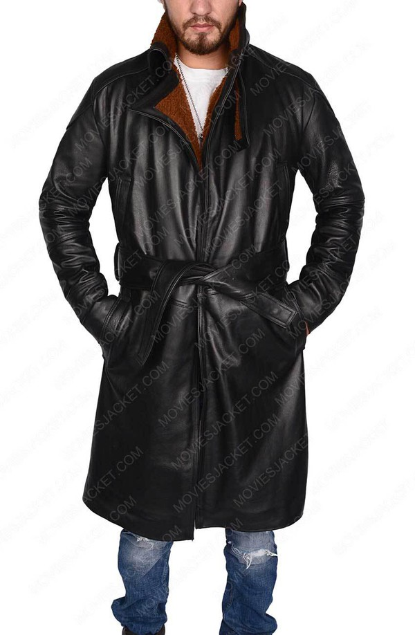 Black duster coat movie character