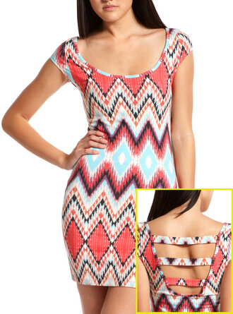 dress bodycon cute dress tribal print dress swag girl
