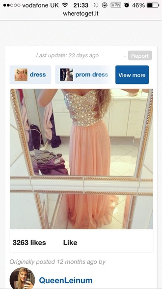 dress coral dress prom dress prom dresses girly helpmefindthisplease