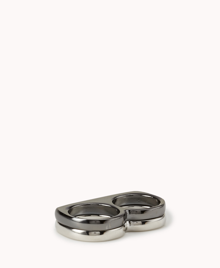 Two-Finger Ring Set | FOREVER21 - 1030436331