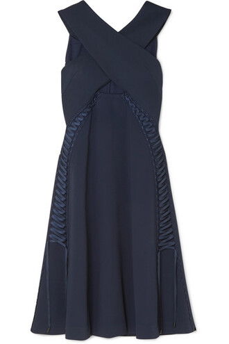 dress lace blue