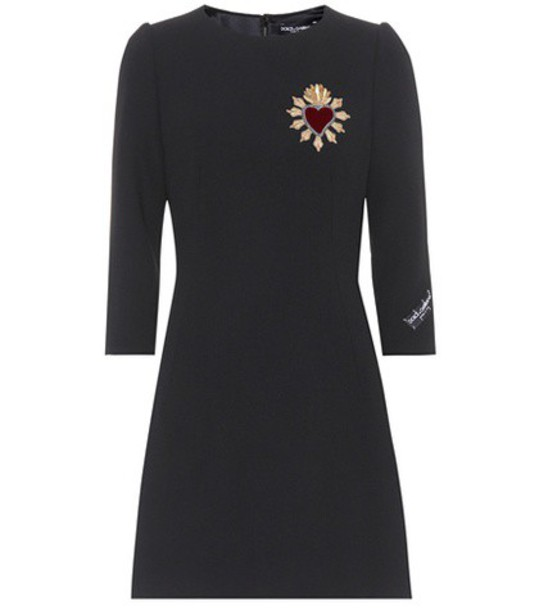 Dolce & Gabbana dress wool black