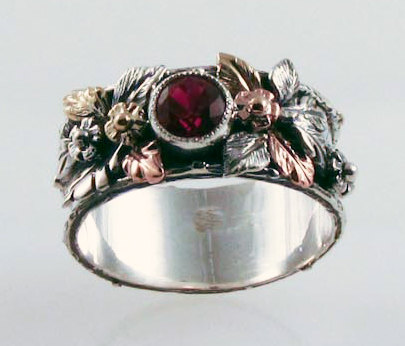 Ruby Renaissance Ring by FernandoJewelry on Etsy