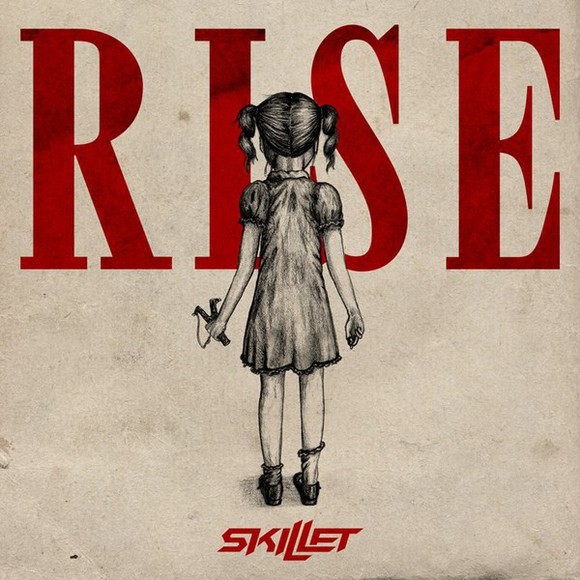 girl music rise skillet album halloween