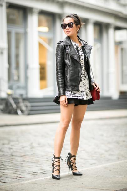 wendy's lookbook blogger top jacket bag shoes sunglasses jewels