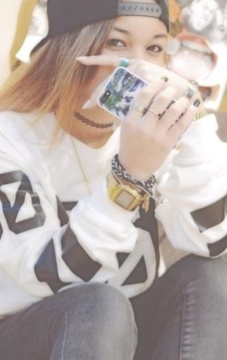 jewels wolftyla gold watch jewelry tattoo choker choker necklace necklace