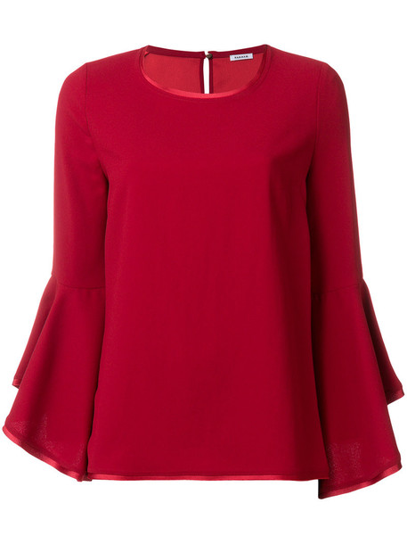 P.A.R.O.S.H. top women red