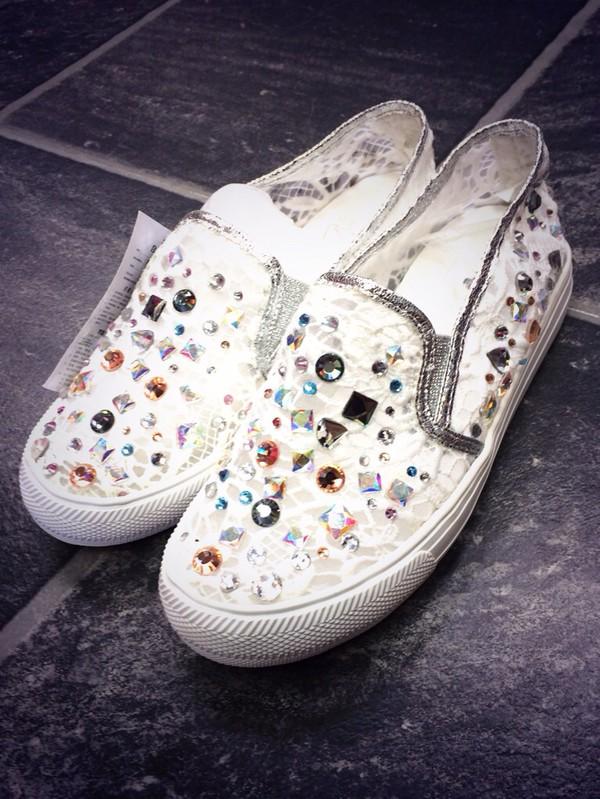 shoes crystal pumps plimsoles