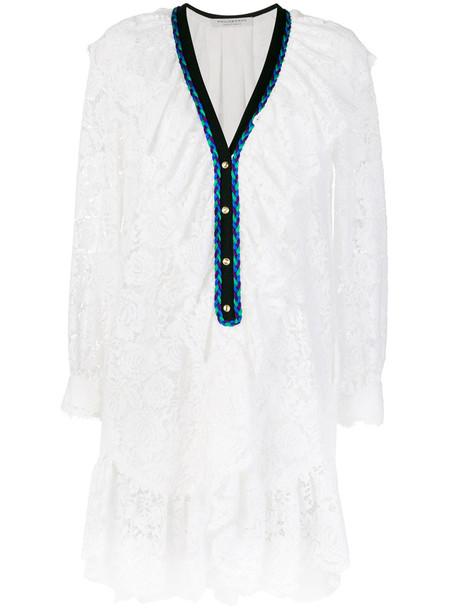 Philosophy di Lorenzo Serafini dress lace dress women lace white cotton