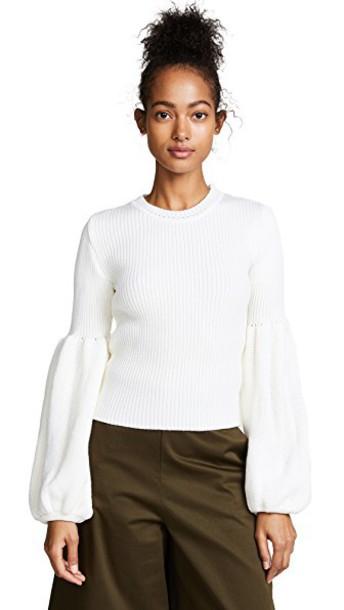 Ksenia Schnaider sweater wool white
