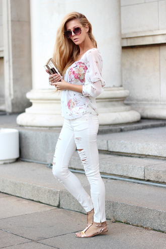 jewels shoes sunglasses jeans blouse sirma markova