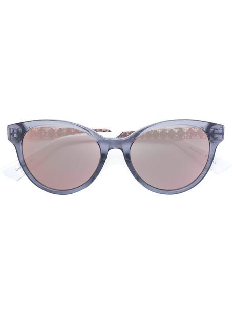 metal women sunglasses round sunglasses grey metallic