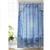 Blue Boho Shower Curtain