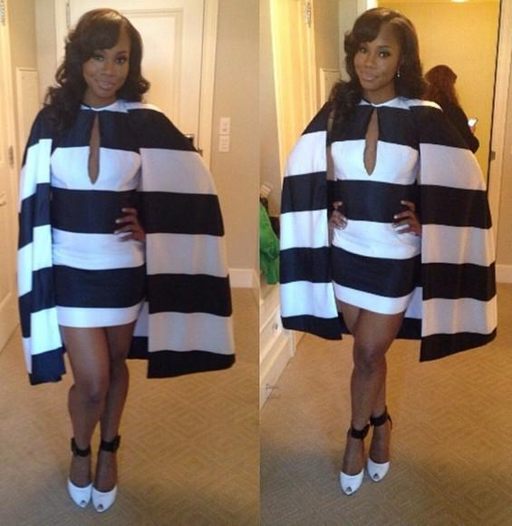 dress cape black and white dress cape, coat, black
