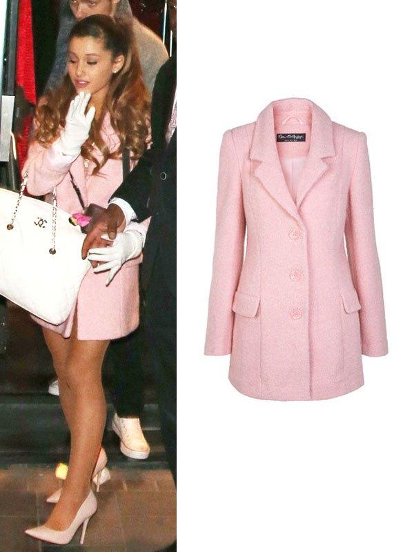 Ariana Grande S Coats Shop Her Style